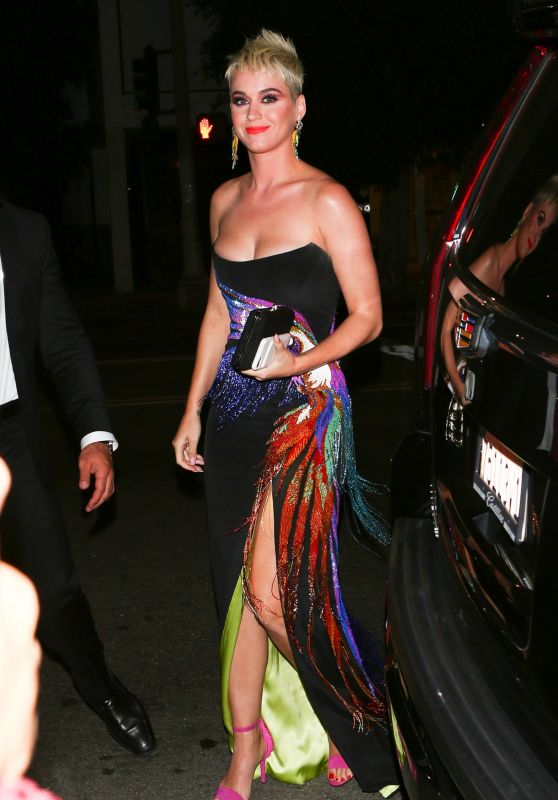 Katy Perry - UGG x Jeremy Scott Collaboration Launch Event in West Hollywood 08/27/2017