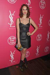 Kaya Scodelario - YSL Beauty Club Party in London 08/03/2017
