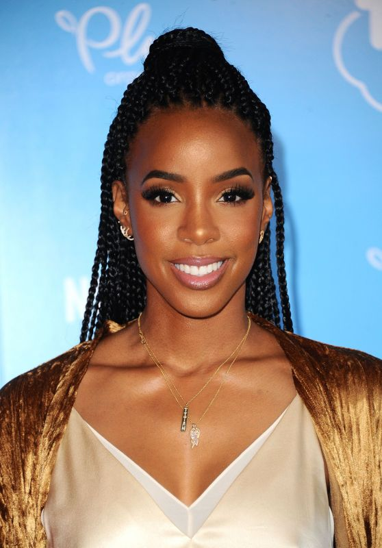 "Kelly Rowland – ""True And The Rainbow Kingdom"" TV Show Premiere in LA 08/10/2017"