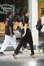 Kendall Jenner and A$AP Rocky - Out in New York 08/03/2017