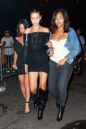 Kendall Jenner, Hailey Baldwin and Bella Hadid at Cipriani in NYC 08/02/2017