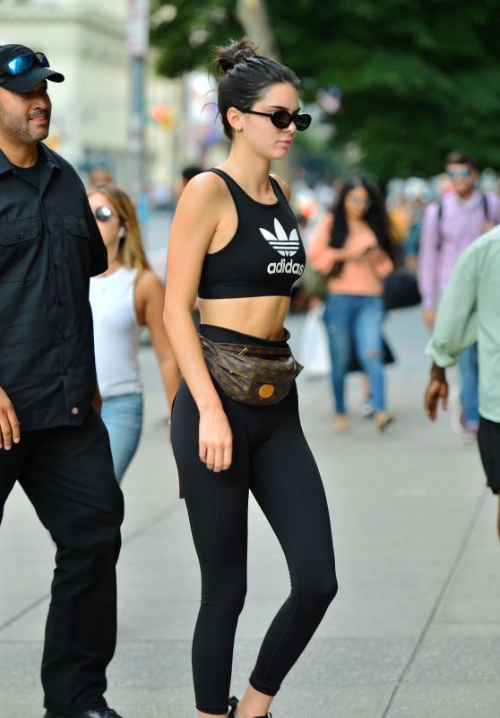 Kendall Jenner - Head to the Boxing Gym in NYC 07/31/2017
