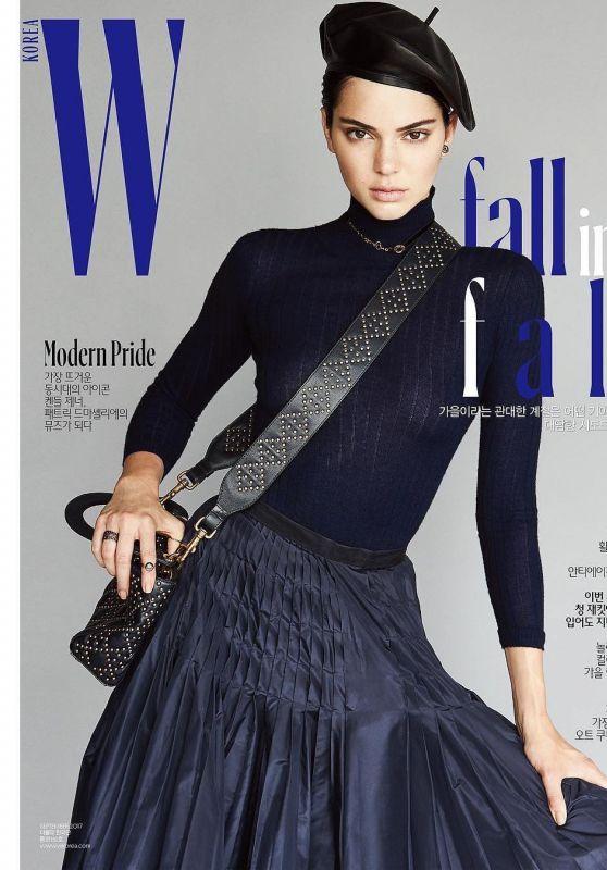 Kendall Jenner - W Magazine Korea September 2017 Cover