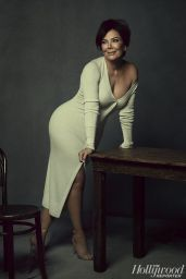 Kendall, Kylie, Kris Jenner and Kim, Kourtney, Khloe Kardashian - THR Magazine, August 2017