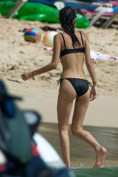 Kim Turnbull in Bikini at the Beach in Barbados 08/01/2017