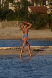Kimberley Garner in a Swimsuit - Holiday in St Tropez 08/17/2017