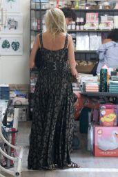 Kimberly Stewart  - Shopping in Studio City 08/21/2017