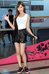 Kirara Asuka  - Arrives for a Visit in Taipei, Taiwan 08/22/2017