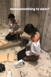 Kourtney Kardashian - Social Media Pics 08/28/2017