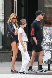 Kristen Stewart and Stella Maxwell - Out in NYC 08/28/2017