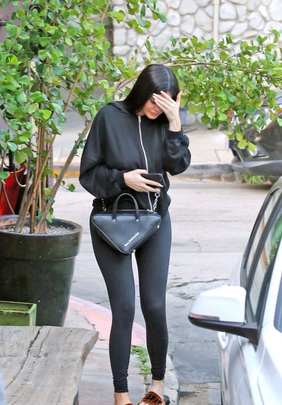 Kylie Jenner in Spandex - Out in Los Angeles 08/15/2017