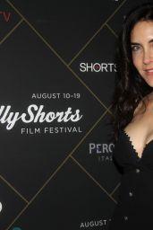 "Lahna Turner – ""This is Meg"" Screening, HollyShorts Film Festival in Los Angeles"