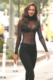 Lais Ribeiro – Victoria's Secret Fashion Show 2017 Fittings in New York 08/28/2017