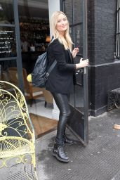 Laura Whitmore - Arrives at Bourne and Hollingsworth Buildings in London 08/17/2017