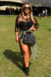 Lauren Goodger - V Festival at Hylands Park in Chelmsford, UK