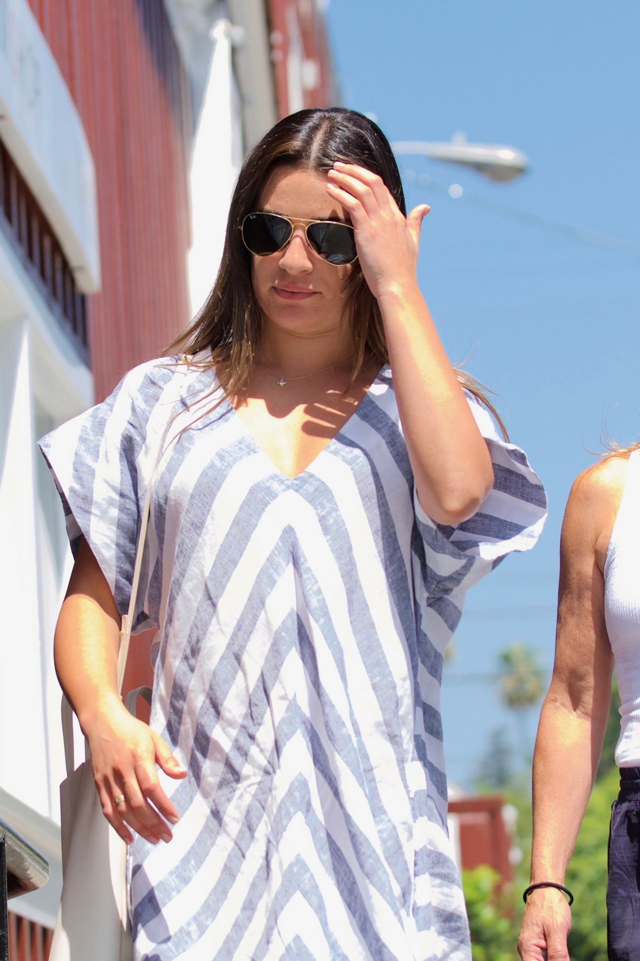 Lea Michele - Shopping in Brentwood 08/20/2017