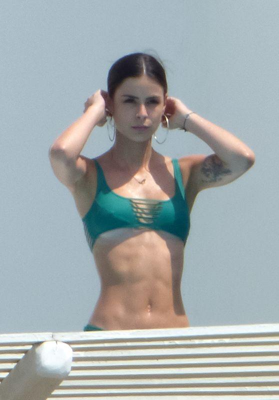 Lena Meyer-Landrut in Bikini - Mykonos 08/22/2017