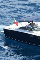 Leslie Bibb - Holiday on the Amalfi Coast in Italy 08/28/2017
