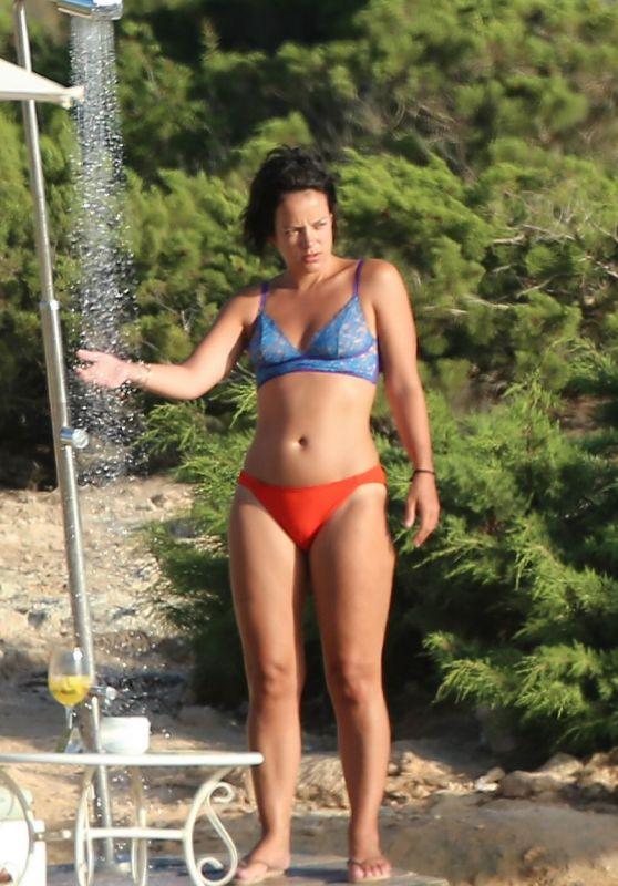 Lily Allen in Bikini - Ibiza 08/18/2017