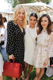 Lily Collins – InStyle Magazines Day of Indulgence in Los Angeles 08/13/2017