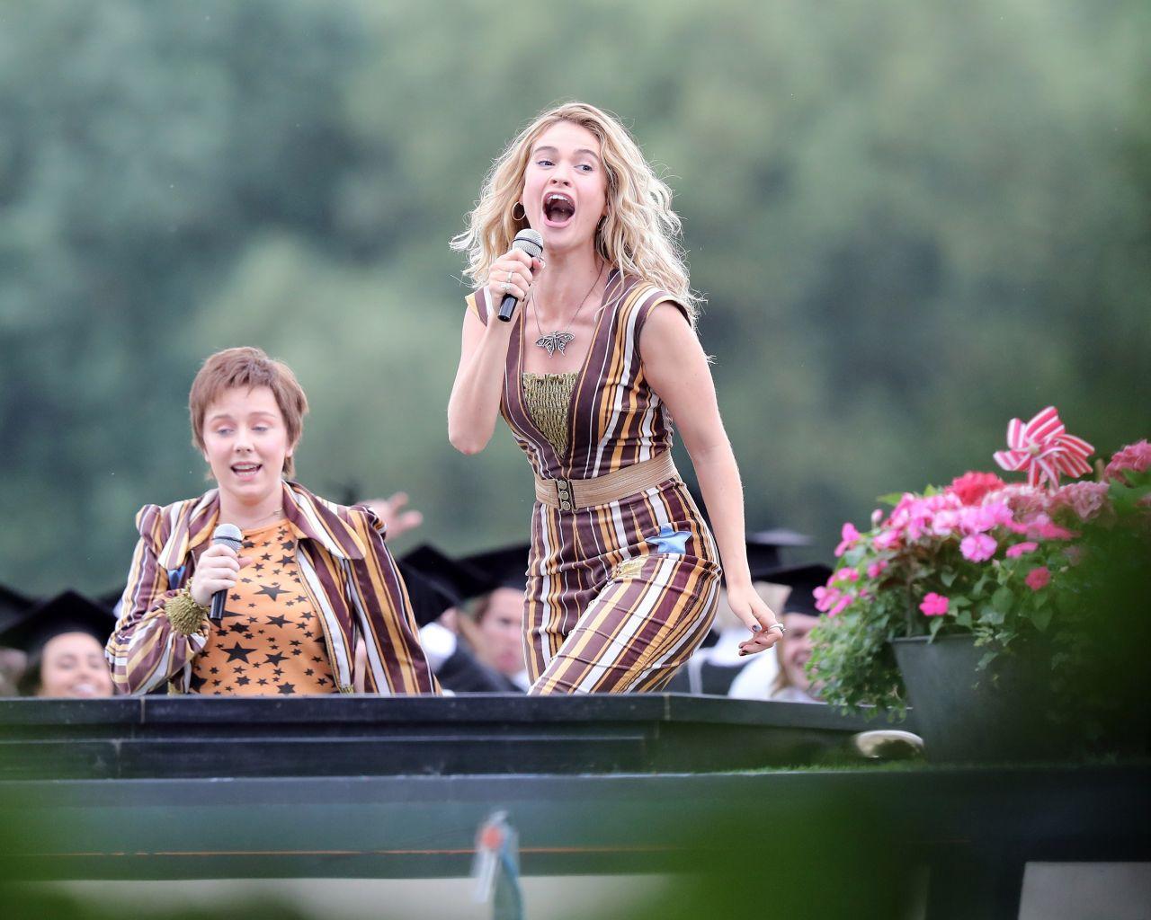 Lily James Mamma Mia