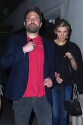 Lindsay Shookus and Ben Affleck - Date Night in New York 08/20/2017