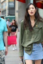 Liu Wen – Victoria's Secret Fashion Show Casting in NYC 08/21/2017