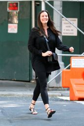 Liv Tyler in Casual Attire - West Village, NY 08/20/2017