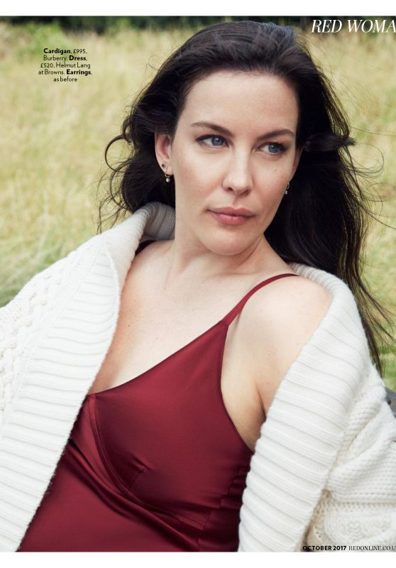 Liv Tyler - Red Magazine UK October 2017 Issue