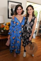 Lizzy Caplan & Alison Brie – InStyle Magazines Day of Indulgence in Los Angeles 08/13/2017