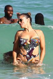 Lola Ponce in Swimsuit - Beach in Miami 08/05/2017