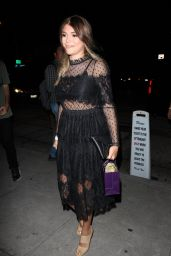 Lori Loughlin Night Out Fashion - Arrives to Craig
