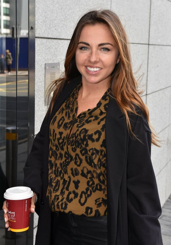 Louisa Lytton - Arrive at The Bord Gais Energy Theatre in Dublin 08/02/2017