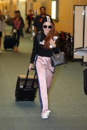 Madelaine Petsch - Catch a Flight Out of Vancouver to LA 08/12/2017