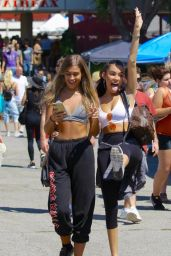Madison Beer at the Melrose Trading Post, Toluca Lake 08/27/2017