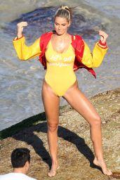 Madison Edwards Bikini Photoshoot at Tamarama beach in Sydney 08/24/2017