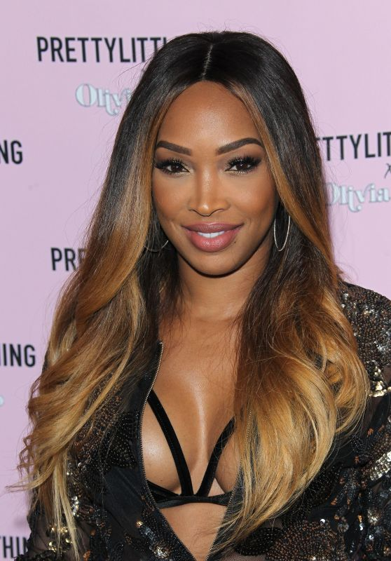 Malika Haqq – PrettyLittleThing x Olivia Culpo Collection Launch in LA 08/17/2017