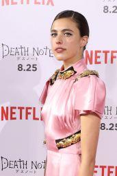 "Margaret Qualley - ""Death Note"" Premiere in Tokyo 08/24/2017"