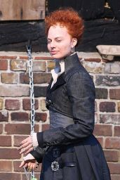 "Margot Robbie - ""Mary Queen of Scots"" Movie Set in London 08/20/2017"