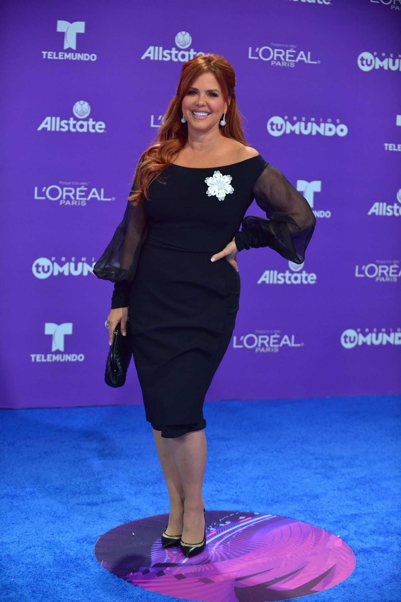 Maria Celeste Premios Tu Mundo In Miami 08 24 2017