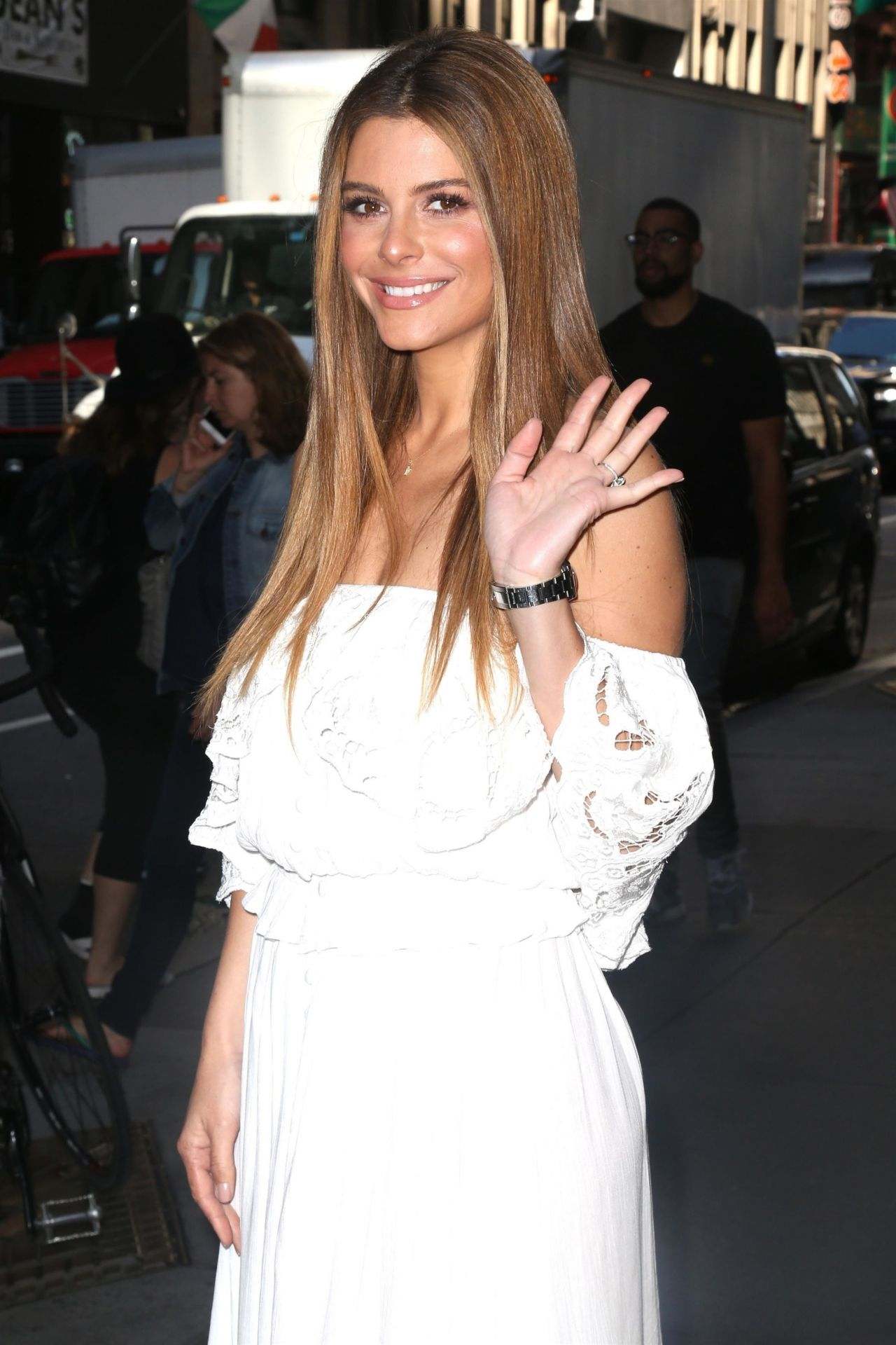 Maria Menounos Arriving To Appear On Quot Today Quot Show In Nyc