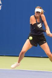Maria Sharapova Practice Session - US Open Tennis Tournament in NYC 08/26/2017