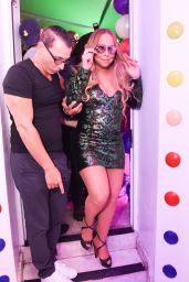 Mariah Carey - Leaves the Sugar Factory on Ocean Drive in Miami Beach 08/10/2017