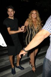 Mariah Carey - Stepped Out After Her Performance in Boston 08/22/2017