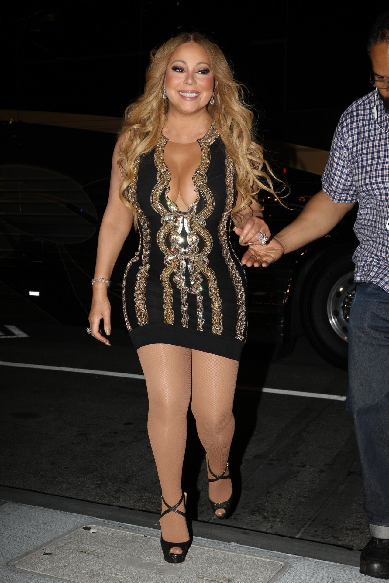 Mariah Carey Stepped Out After Her Performance In Boston