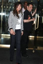 Marie Osmond and Donny Osmond - Outside the NBC