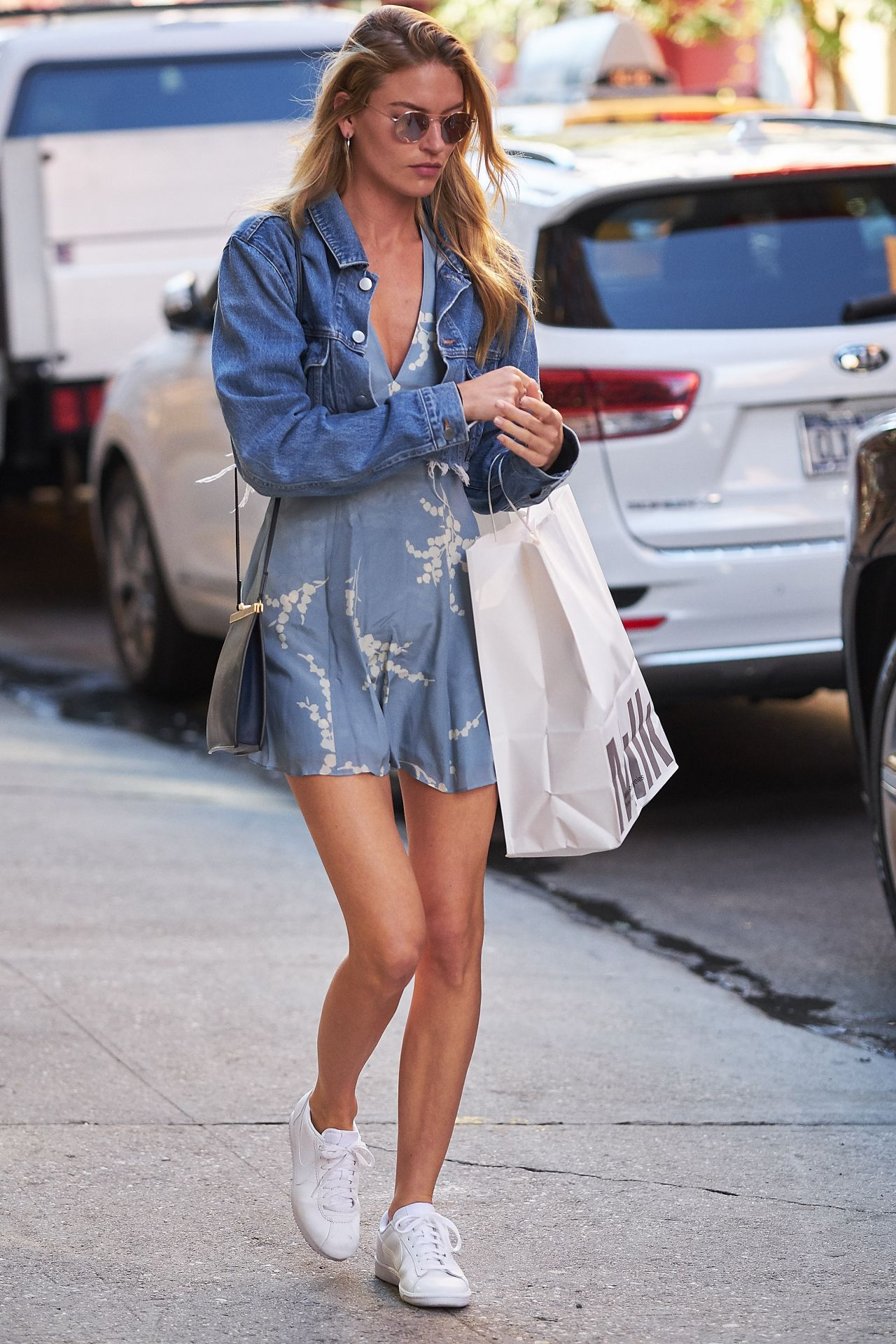 008095d5d9ec Martha Hunt Cute Style - Out in NYC 08 23 2017