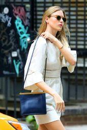 Martha Hunt Street Style - NYC 08/16/2017
