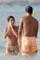 Martina Stoessel and Pepe Barroso on the Beach in Formentera, Spain 07/31/2017