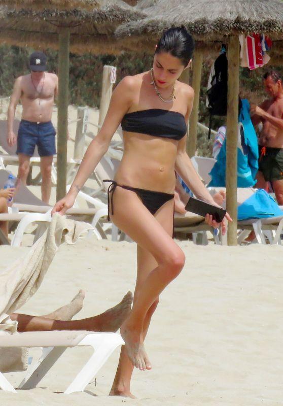 Martina Stoessel in Bikini on Holidays in Formentera 08/01/2017